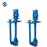 Best Blue Heavy Duty Vertical Shaft Pump Sand Mining Pump With Support Plate wholesale