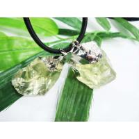 Best Agate Necklace Pendants, Natural Lemon Jade Pendant Semiprecious Jewelry wholesale