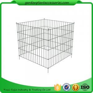 Best Single Bin Wire Composter Heavy - Gauge , Powder - Coated Steel Wire wholesale