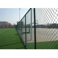 Best Garden PVC Coated Chain Link Fence 1.2M * 50M PVC Chain Link Fence 1.5mm-5mm wholesale