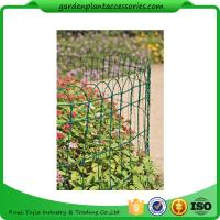 """Best Economical Garden Plant Accessories - Dark Green  Mesh Steel Wire Fencing PVC-coated 1/16"""" wire  All heights are 32'-9"""" wholesale"""