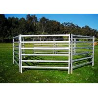 Best Metal Livestock Field Farm Fence Gate for cattle sheep or horse 1.8X2.1Meter wholesale