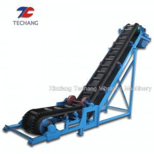 Best PVC Belt Conveyor Machine Large Capacity For Bulk Materials Loading / Sorting wholesale