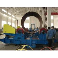 Self Aligning Pipe Welding Rotator With Steel / Polyurethane Wheel