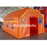 Best Water - Resistant PVC Inflatable Medical Tent Event Rescue Station Tent wholesale