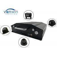 Best RS232 720P 4G 4 Channel Mobile DVR Onboard Cameras Inputs Bus Router With Hard Drive wholesale