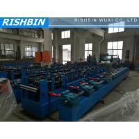 Quality Cold Steel Strip Profile C / Z Purlin Metal Sheet Roll Forming Machine with PLC wholesale