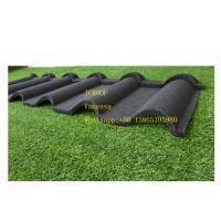 Best Khaki Color Stone Coated Metal Roof Tile Modern Classical , Roof Metal Sheet wholesale