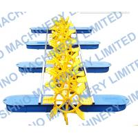 Cheap 10 Impeller Multi-impellers aerator,Long Arm Diesel Engine Paddle Wheel Aerator for sale