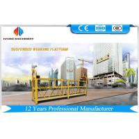 Best 7.5m Aluminum Suspended Rope Platform 1000KG With Single Phase , Gondola Platform wholesale