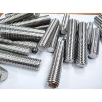 China Alloy C276 UNS N10276 Nickel Alloy Fasteners Hex Bolt Stud Bolt Cold Galvanized Surface on sale