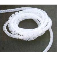 Best Flexible white PE / Nylon customized spiral wire wrapping band wrap band plastic wholesale