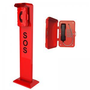 Best Vandal Resistant SIP Roadside Emergency Telephone Pillar wholesale