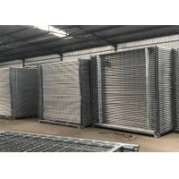 Buy cheap Temporary Fencing Auckland 2100mm x 2400mm width 42 microns hot dipped from wholesalers