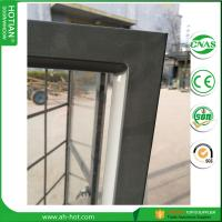 Cheap hot rolled steel window and doors made with warm edge tempered glass for sale