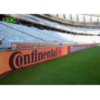 China Live Football Video P10 Full Color Advertising Stadium Led Display Screen on sale