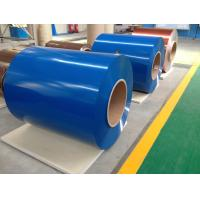 Best Aluminium Foil Paper Color Coated Zinc Steel Coil With Corrosion Resistance wholesale