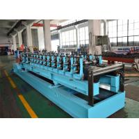 China Gcr15 High Steel C Purlin Roll Forming Machine , Steel Profile Roll Forming Machine on sale