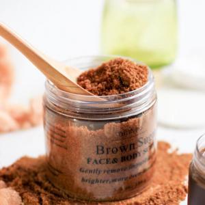 Best SGS Natural Private Label Exfoliating Sugar Body Scrub wholesale