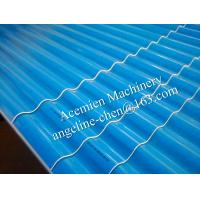 Best plastic PVC water and fire resistant, long life time wave tile panel making machine wholesale