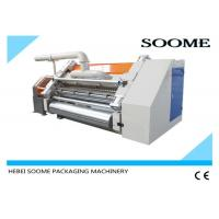 Best Single Ply Corrugated Cardboard Production Line Electric Control High Effieciency 380V 50Hz wholesale