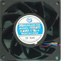 China 80 X 38Mm dc cooler axial 24V brushless cooling fan electronic components on sale