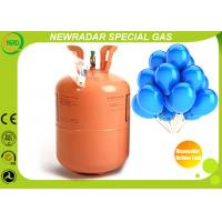 Lightweight Disposable Helium Gas Cylinder For Balloons Environment