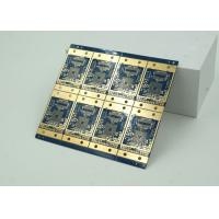 Cheap 6 Layer High Frequency, Material HDI PCB Blue Solder Mask  BGA for sale