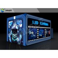 Best Entertainment Virtual 12D Cinema XD Theatre Cabin With 3DOF Eletric Chairs wholesale