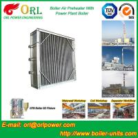 Best Plate Type Boiler Air Preheater Alloy Steel , Boiler APH Energy Saving wholesale