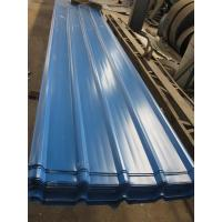 Buy cheap 1500 - 3800mm Length JIS G3322 CGLCC, ASTM A792 Prepainted Corrugated Steel Roof from wholesalers