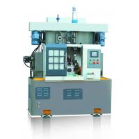 Quality Rotary Indexed Table Lathe Turning Machine , Drilling Tapping Machine Vertical Two Spindle wholesale