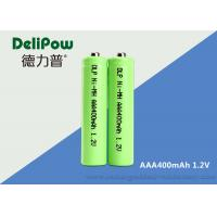 China Customized 1.2V 400mAh AAA NIMH Rechargeable Battery For Digital  Camera on sale