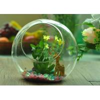 Best Gift Hanging Teardrop Tealight Holder / Hanging Glass Terrarium Containers wholesale