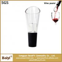 China Portable red wine pourer,wine bottle pourer on sale