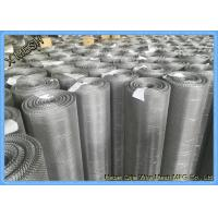 Best Ultra Fine Stainless Steel Woven Wire Mesh Sheets , 316L 30 Micron Woven Wire Cloth wholesale