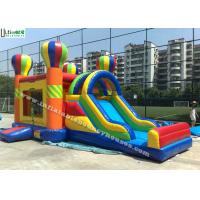 Best 4 in 1 Rainbow Commercial Inflatable Bounce Houses Jump N Slide Bouncer wholesale