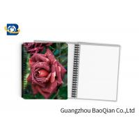 Best 0.6mm PET Material Personalized Spiral Notebooks  3D Lenticular Stationery wholesale