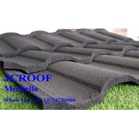 Best Stone Coated Roofing Sheet , Stone Coated Metal Shingles Customized Colour wholesale