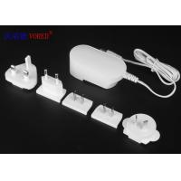 Cheap 24W Interchangeable Power Adapters 100 - 240V AC Input High Speed Charging for sale