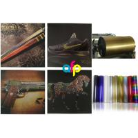 Best Fine Overprint Definition Cold Foil Stamping Applications Customized Reel Size And Colors wholesale