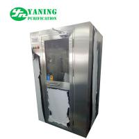 Best Stainless Steel Air Shower Clean Room Equipment 62dB Noise For Class 100 Clean Room wholesale