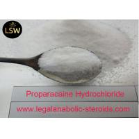 Best CAS 5875 06 9 Local Anesthetic Drugs , Pharmaceutical Raw Powder Proparacaine Hydrochloride wholesale
