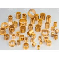 China Low Noise Oil Impregnated Brass Sleeve Bearing Excellent Wear Resistance on sale