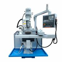 Best 3 HP Power CNC Vertical Turret Milling Machine Stability With High Cutting Force wholesale