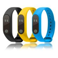 Quality Bracelet with LCD display, embedded Battery, Bluetooth low energy, Calories and distance calculation etc. wholesale