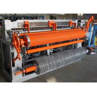 Buy cheap Heavy Auto Welded Wire Mesh Machine For Fencing Roll 1m-2.3m Mesh Width from wholesalers