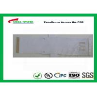 Best White Color Flexible PCB Design Single Sided with Immersion Gold wholesale
