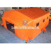 Buy cheap Commercial Inflatable Medical Tent Convenient Open For Field Treatment from wholesalers