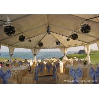 Quality Team Outdoor Party Tents , Fire Resistant Commercial Backyard Tents For Parties wholesale